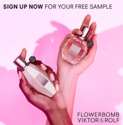 Free Flowerbomb Dew or Flowerbomb Classic 1.2ml Sample