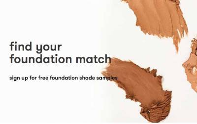 free foundation shade samples from Dermablend
