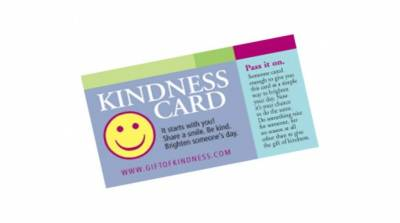 FREE Gift of Kindness & Thank You Cards