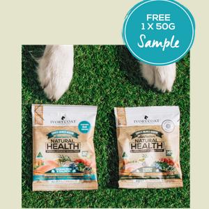 Request Free Ivory Coat Dog or Cat Food