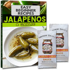 FREE Jalapeno Garlic Sauce Samples and Recipes Book
