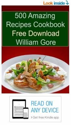 Free Kindle Book - 500 Amazing Recipes Cookbook