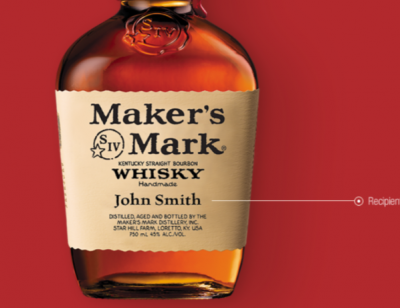 Free Label from Maker's Mark®