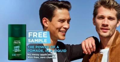 free Liquid Style Pomade sample from Garnier