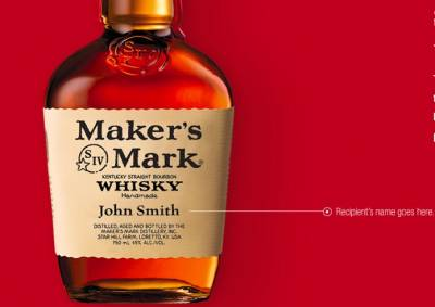 Free Maker's Mark® Personalized Label
