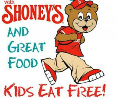 Children: Free Meal At Shoney's For Kids