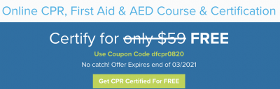 Free Online Certification - CPR, First Aid & AED Course