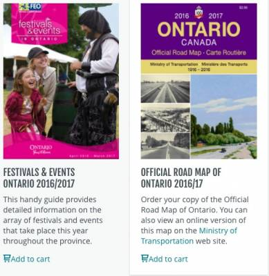 Free Ontario Travel Guides