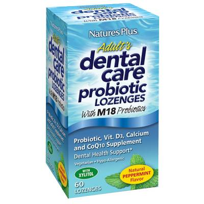 Request Free Peppermint Dental Care Probiotic Lozenges