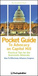 Request Free  Pocket Guide to Advocacy on Capitol Hill