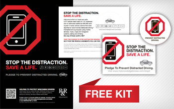 Sign up: Free  Prevent Distracted Driving Campaign Kit Wisconsin Educators
