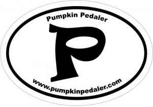 Sign up: Free  Pumpkin Pedaler decal