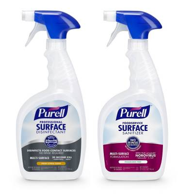 Request Free Purell Surface Disinfectant Spray For Professionals