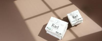 Sign up: Free Rael Pad & Liner Sample