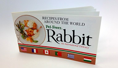 Free Recipe Book - Pel Freez Rabbit