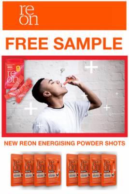 FREE Reon Energizing Powder Shots Sample
