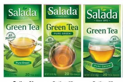 Free Salada Tea Sample