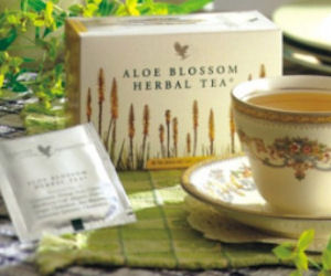 Request Free Sample Aloe Blossom Herbal Tea