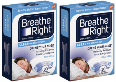 Sample Breathe Right Strips