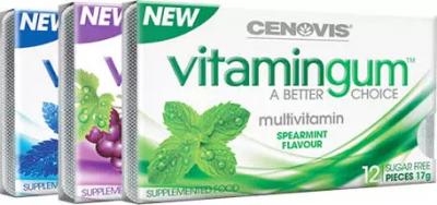 Free Sample of Cenovis Grape Vitamin Gum