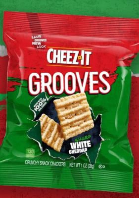 Free Sample of Cheezit Grooves