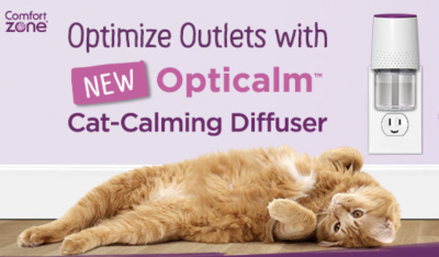 Free Sample of Comfort Zone® Cat Calming Diffuser