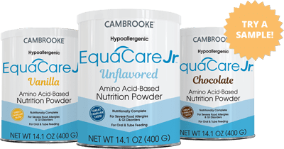 free sample of Essential Care Jr. or EquaCare Jr.