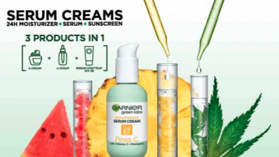 Free Sample of Garnier Green Labs Serum Cream