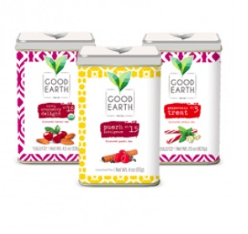 Free Sample of Good Earth Tea (35000 Only)