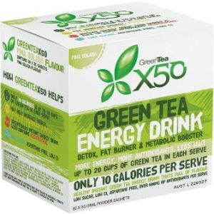 Request Free Sample Green Tea X50