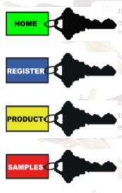 Free sample key tag
