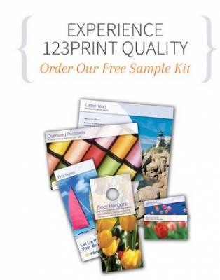 Free Sample Kit from 123Print