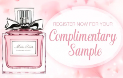 Free Sample of Miss Dior Blooming Bouquet Fragrance