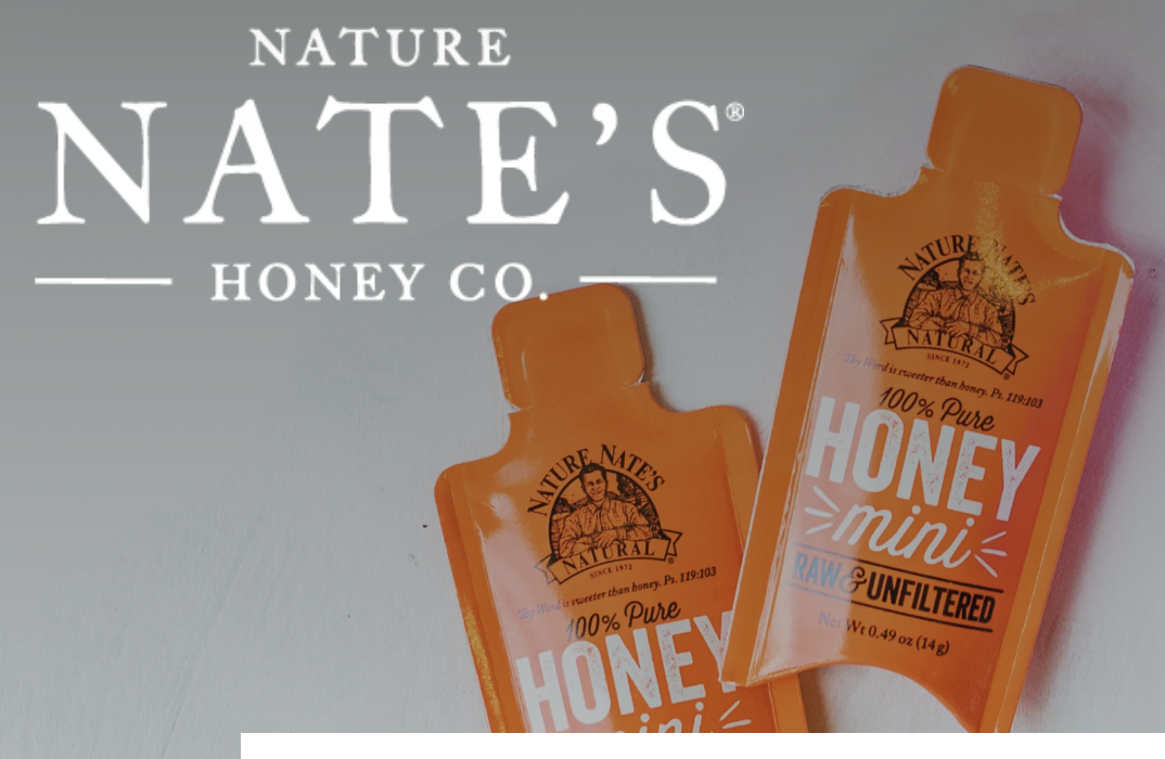Free Sample of Nature Nate's pure honey