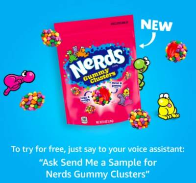 Free Sample of New Nerds Gummy Clusters