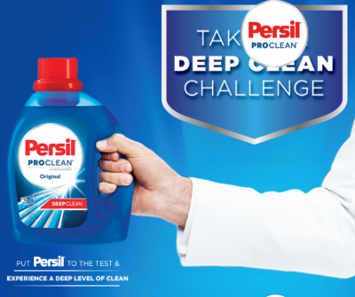 Free Sample of persil pro clean