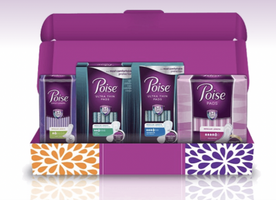 Free Sample of Poise Bladder Leakage Kit