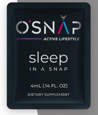 FREE Sample of SLEEP IN A SNAP