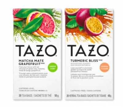 Free Sample of Tazo