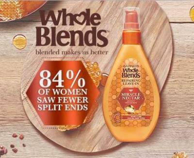 Free Sample of Whole Blends Honey Miracle Nectar Repairing Treatment
