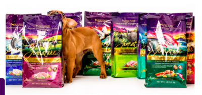 Free Sample of Zignature Dog Food