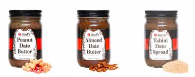 Free Samples of Jool's peanut, almond, and tahini spreads