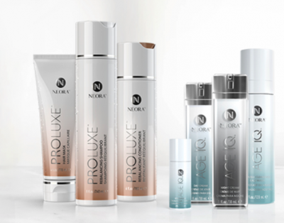 Free Samples from Neora Skin and Haircare