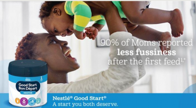 Free Samples from Nestle Baby