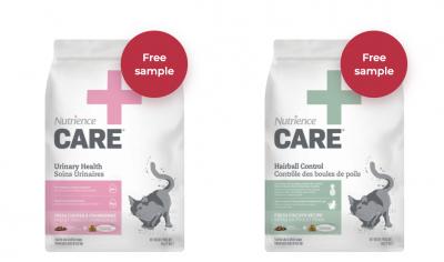 Free Samples of Nutrience Pet Food