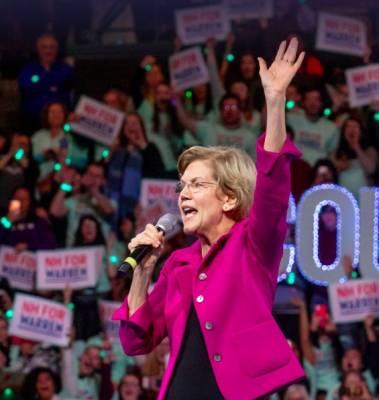 Free Sticker - Elizabeth Warren