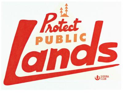 Free Sticker - Protect Public Lands