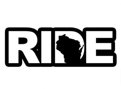 Free Sticker - Ride Wisconsin