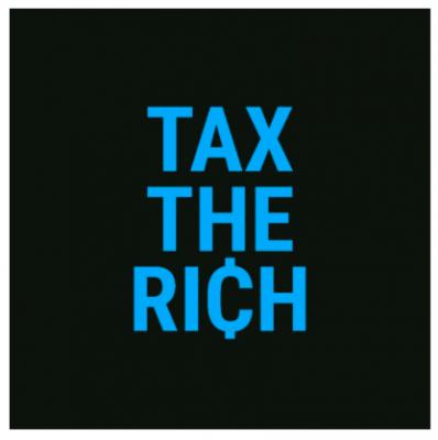 Free Sticker - Tax the Rich