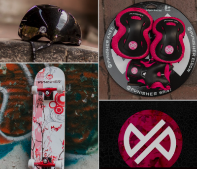 Free Stickers from Punisher Skateboards